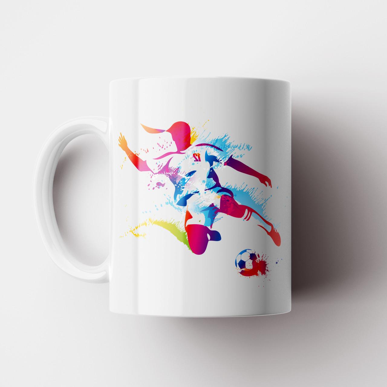 Чашка Футболист. Футбол. Чашка з фото