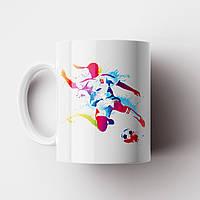 Чашка Футболист. Футбол. Чашка з фото, фото 1