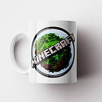 Чашка Minecraft. Кружка Майнкрафт. Чашка с фото, фото 1