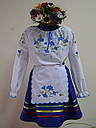 Спідничка для дівчинки з стрічками, фото 3