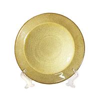 Тарелка OLens Золото 16112-12 22 см