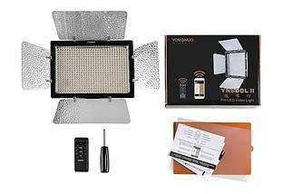 Постоянный накамерный свет, LED панель Yongnuo YN-600L II (mono-color) с bluetooth управлением через телефон., фото 2