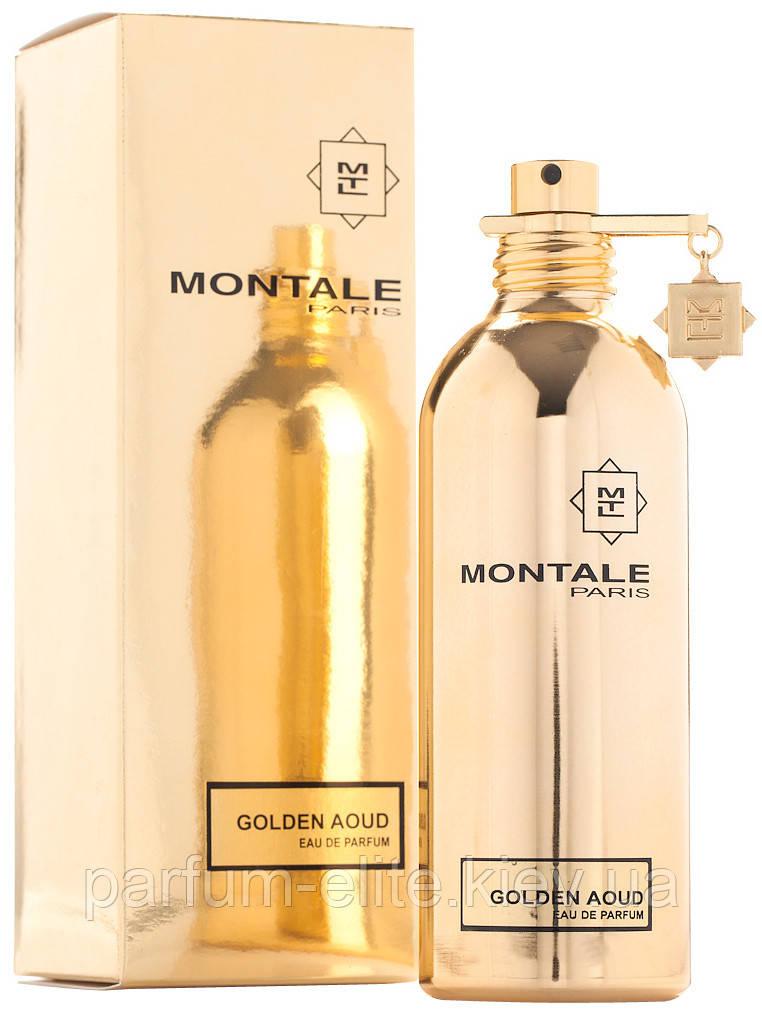 Парфюмированная вода унисекс Montale Golden Aoud 100ml(test)