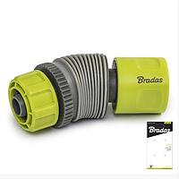 Коннектор для шлангу 1/2 Lime Line з регульованим кутом Stop LE-02142K Bradas