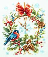 Набор для вышивки крестом Чудесная игла 100-243 «Время Рождества», фото 1