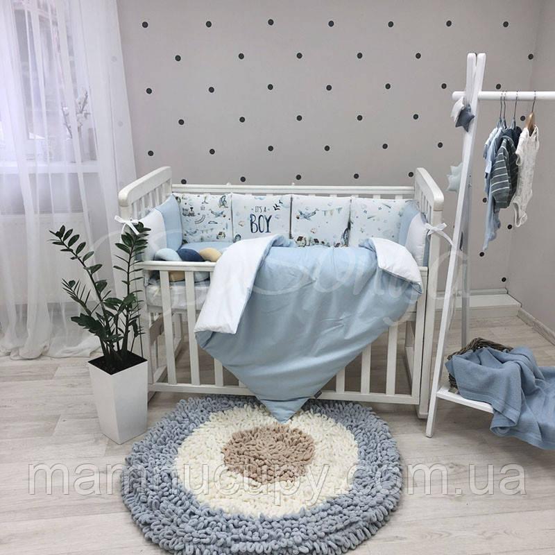 Комплект постільної білизни в ліжечко Art Design Boy ТМ «Маленька Соня»