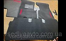 Ворсовые коврики в салон HONDA CR-V (2001-2006)
