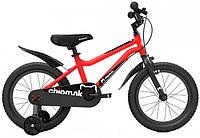 "Велосипед дитячий RoyalBaby Chipmunk MK 12"", OFFICIAL UA, червоний"