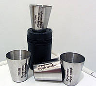 Подарочный набор рюмок с гравировкой, фото 1
