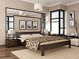 """Двоспальне ліжко """"Рената"""" з бука (щит, масив), фото 3"""