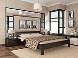 """Двоспальне ліжко """"Рената"""" з бука (щит, масив), фото 6"""