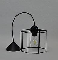 Красивая люстра в стиле Лофт 1 лампа