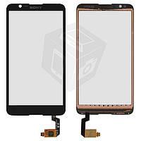 Touchscreen (сенсорный экран) для Sony Xperia Neo L MT25, черный, оригинал