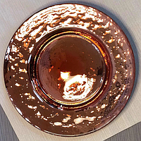 Тарелка OLens Роуз-хаммерд НМ-0014 23 см