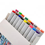 Набор маркеров двухсторонних Sketch  18. шт 390527 Santi, фото 2