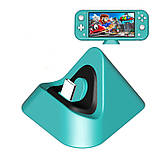 Подставка с зарядкой док-станция DOBE для Nintendo Switch / Lite, фото 6