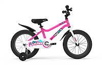 """Велосипед дитячий RoyalBaby Chipmunk MK 12"""", OFFICIAL UA, рожевий"""