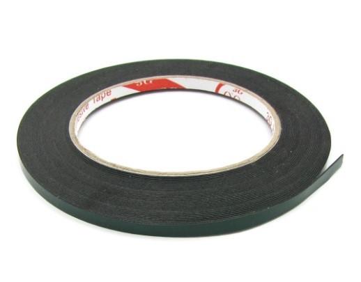 Скотч двусторонний (ширина 3мм, толщина 0,5мм ) на полиуретановой основе (Зелёный)