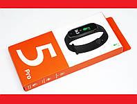 Xiomi Mi Band 5 PRO Фитнес браслет смарт часы Спортивный трекер м5 про (измеряет температуру) копия