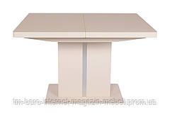 Стол обеденный MANHATTAN (120/163*81.6*76cmH) капучино мат NEW, Nicolas