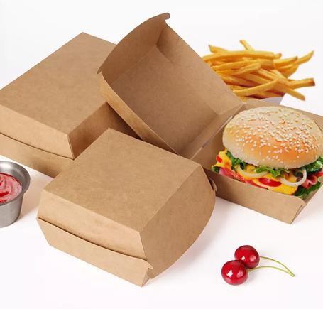 Упаковки для бургеров, картошки фри и снеков