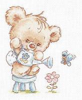 Набір для вишивки хрестом Чудова голка 17-17 «Моя квіточка!»