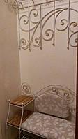 Кованый набор мебели в прихожую  -  07Э, фото 1