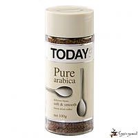 Растворимый кофе TODAY Pure Arabica 95г