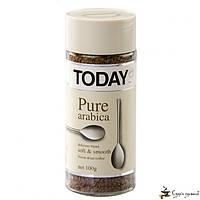 Растворимый кофе TODAY Pure Arabica 95г