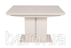 Стол обеденный MANHATTAN (120/163*81.6*76cmH) мокко мат NEW, Nicolas