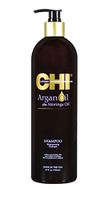 CHI Argan Oil Shampoo NEW Восстанавливающий шампунь с маслом арганы моринги натур.шелк 739 мл