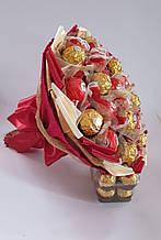 Букет из конфет сладкий конфетный подарок на день рождения женщине девушке  Моя Вена