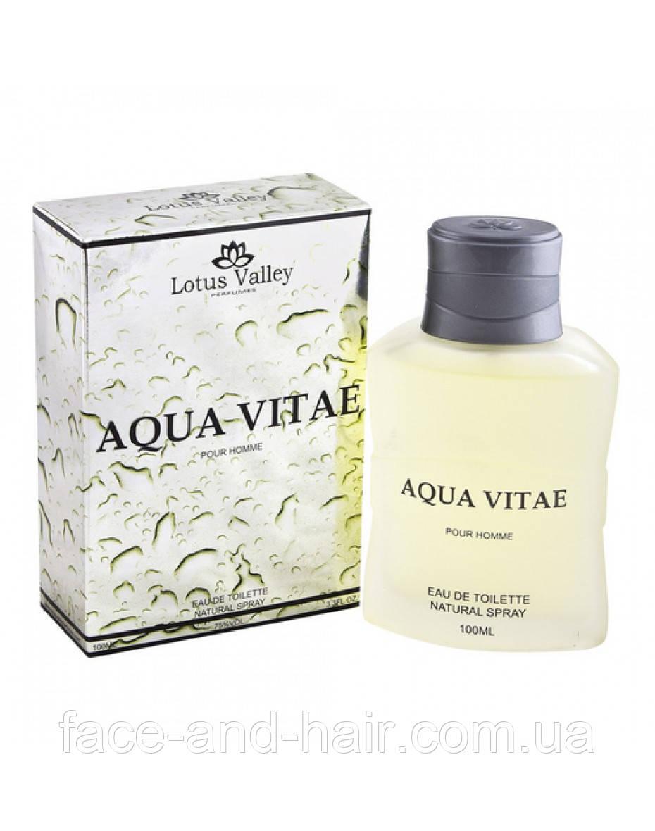 Aqua Vitae Lotus Valley Men EDT 100 ml арт.32015