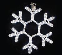 Led украшение Мотив Snowflake 40см белый IP44