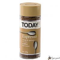 Растворимый кофе TODAY Espresso 100г, фото 1