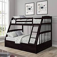 """Кровать двухъярусная деревянная """"Марлин"""" массив дерева"""