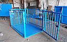 Весы для взвешивания животных VTP-G-1020 (300 кг, 1000х2000 мм) с оградкой 1200 мм, фото 2