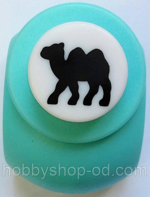 Дырокол фигурный Верблюд кнопка 1,8 см