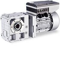 Червячно-цилиндрический мотор-редуктор 104 Нм, 88 об/мин