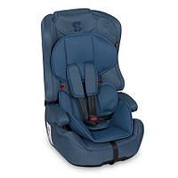 Детское автокресло бустер Lorelli (Bertoni) Harmony Isofix 9-36 kg Blue синее