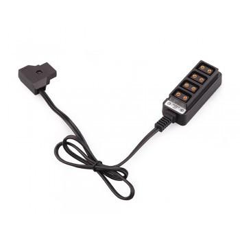 Удлинитель Rolux RL-FB2 для аккумуляторов с D-Tap разъемом (RL-FB2)