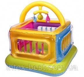 Детский надувной игровой центр-манеж Intex 48472 (117х117х114 см.)
