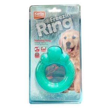 Игрушка Flamingo Teething Ring ФЛАМИНГО КОЛЬЦО для прорезывающихся зубов у собак, 12 см