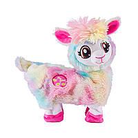 Интерактивная мягкая игрушка Pets Robo Alive – Радужная танцующая лама (9518)