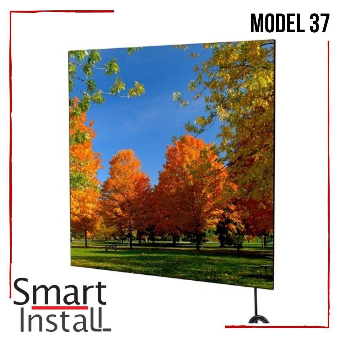 Керамический обогреватель 370 Вт Smart Install Model 37 рисунок, конвектор электрический бытовой инфракрасный