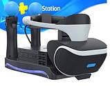 Зарядная док-станция подставка KJH для PS Move и PS VR с подсветкой, фото 4