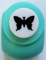 Дырокол фигурный Бабочка кнопка 1,8 см
