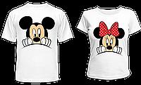 """Парные футболки """"Микки и Минни"""", фото 1"""