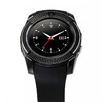 Оригигнал! Качественные Электронные сенсорные смарт часы Smart Watch V8 наручные умные часы ЧЕРНЫЕ