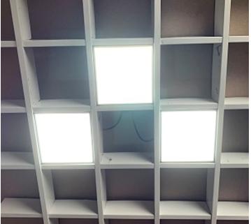 Система светильников Грильято (3шт) СГД 27Вт 100х100 мм